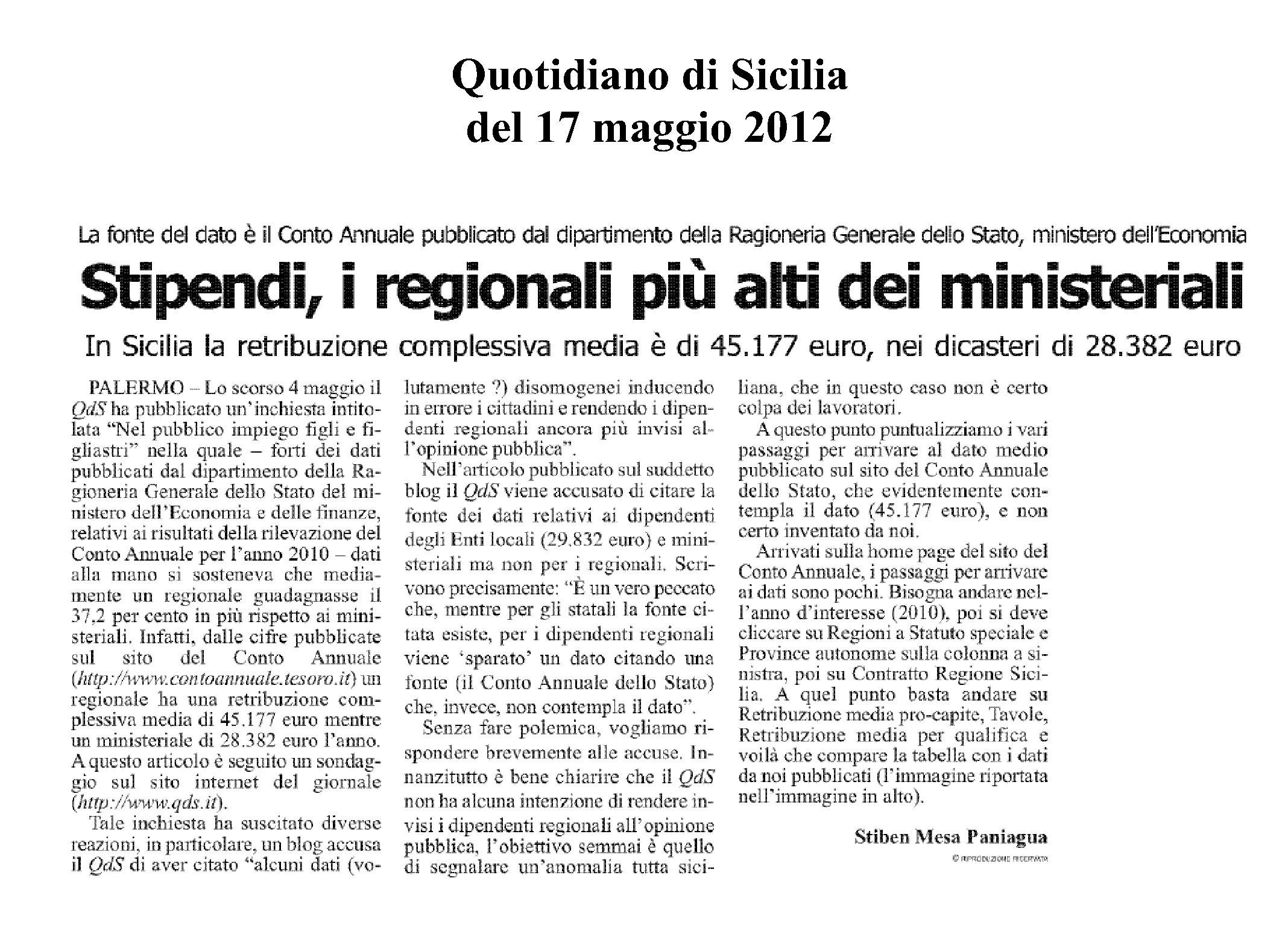 cud regione sicilia