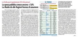 Libero - La Sicilia può regolarizzare 20 mila precari