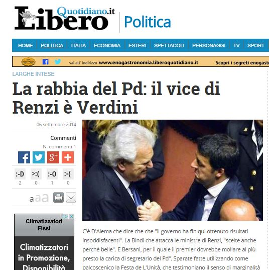 Verdini e Renzi
