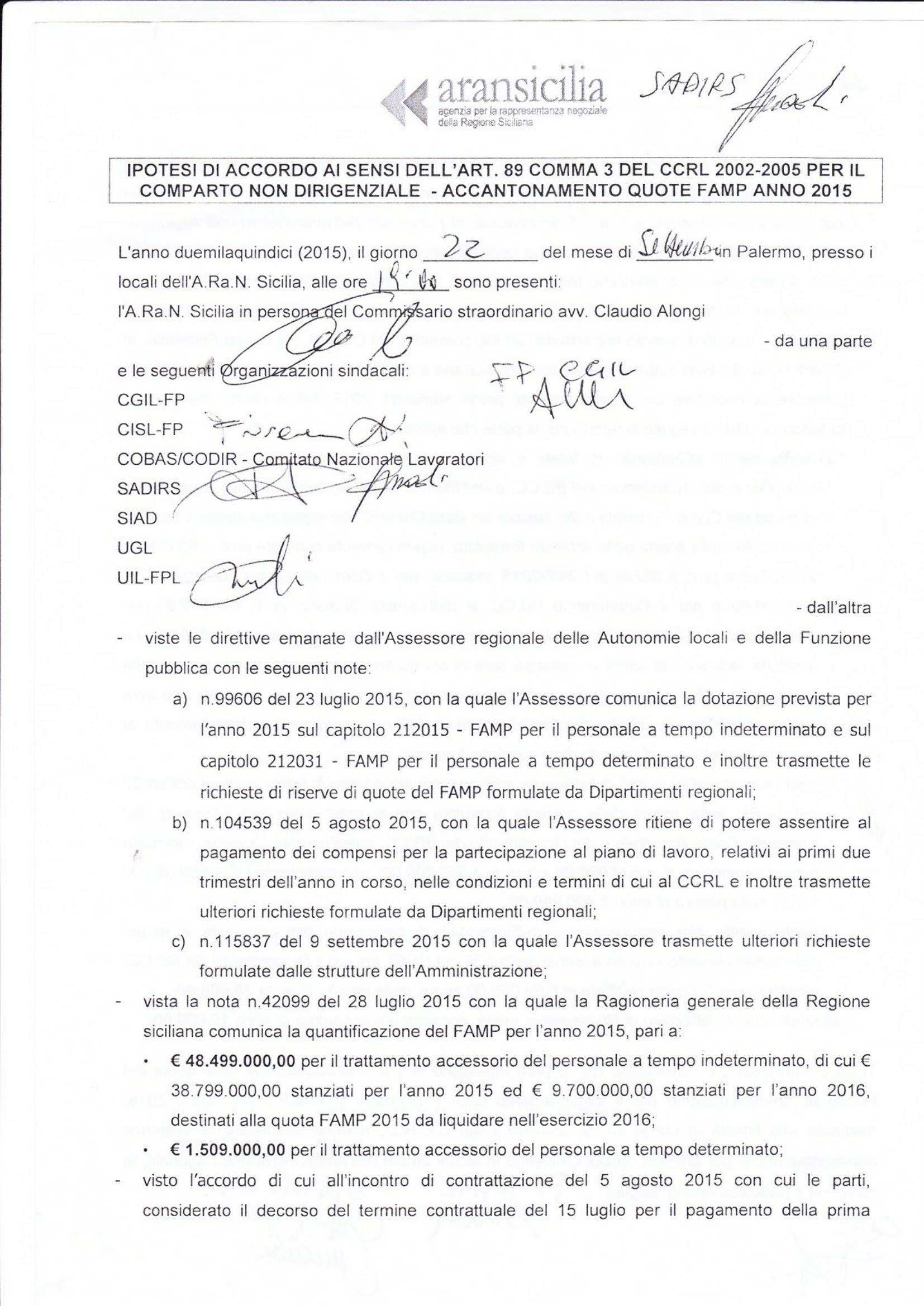 Accordo famp 2015-1