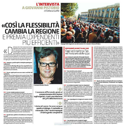 Intervista a Pistorio