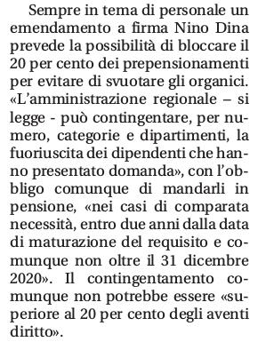 Prepensionamenti altro che riapertura della finestra un emendamento in finanziaria ne - Finestra pensione 2017 ...